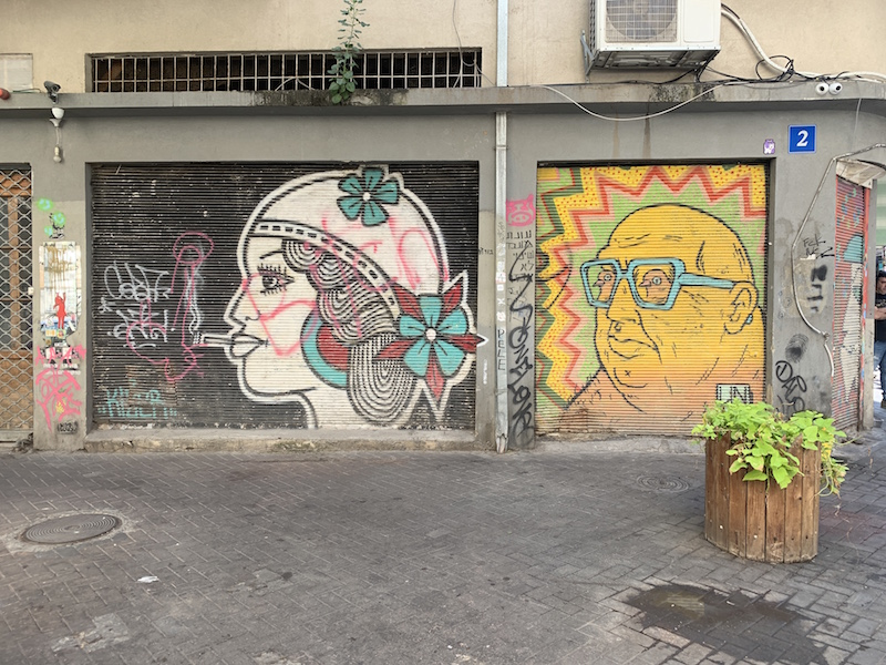 urban art in Tel Aviv