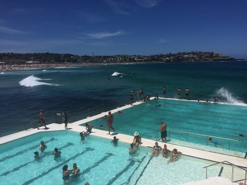 famous ocean pool in Sydney
