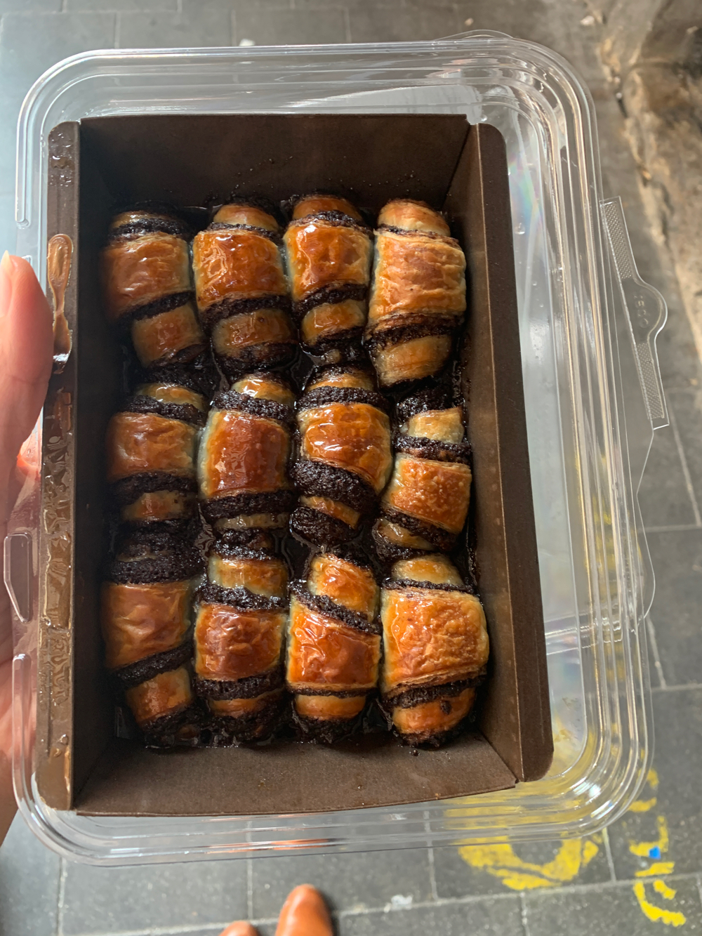 Rugelach Marzipan bakery