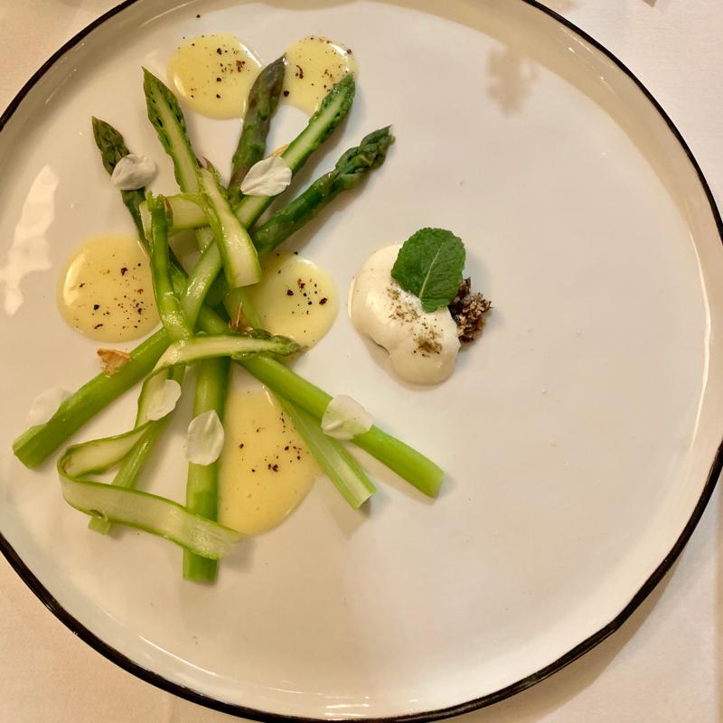 vegetarian Michelin food