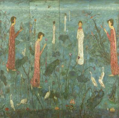 Chinese female artist work