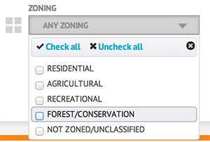 Zoning-Search