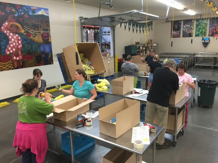 LandCentral at the Oregon Food Bank