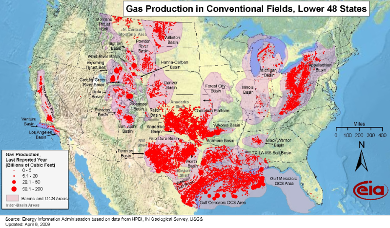 What The Frack Is Going On LandCentral - Us fracking map 2016