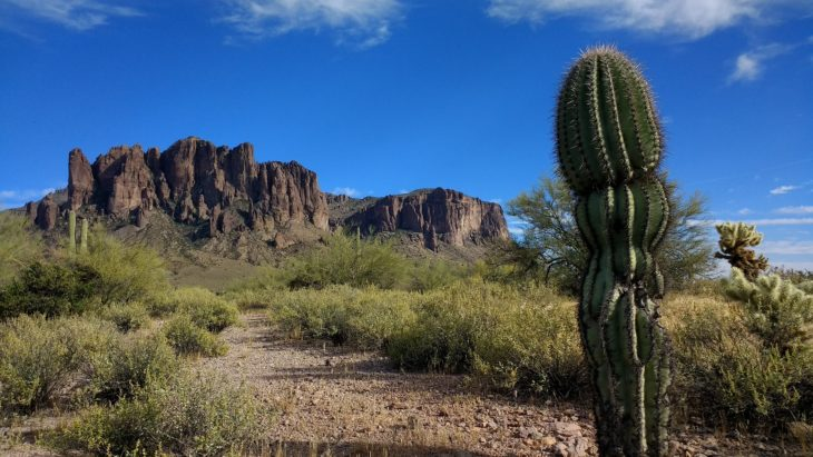 Pinal County Superstition Mountain