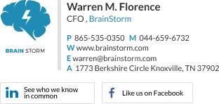 corporate email signature