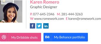 Graphic Designer signature