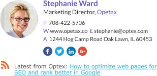 Marketing Director signature template
