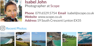 Photographer signature template