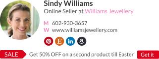 online seller signature template