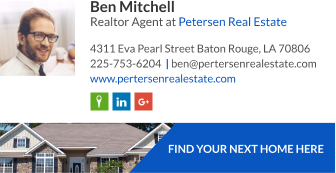Realtor agent signature template