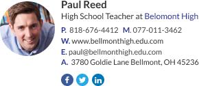 Teacher signature template