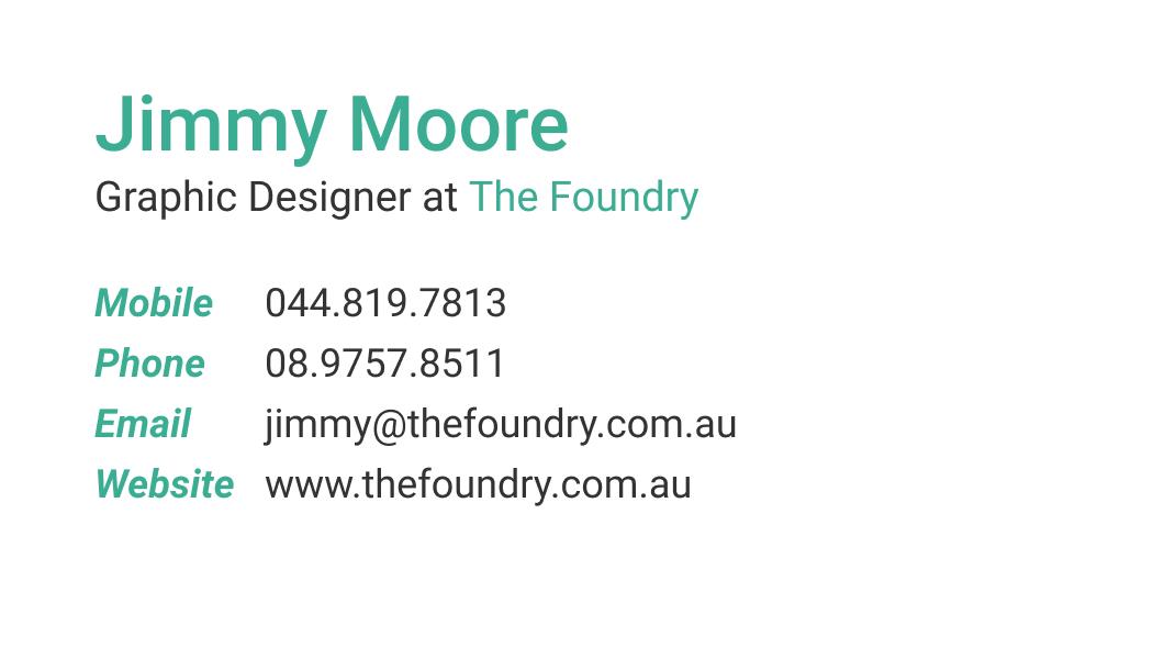 wisecard designer front