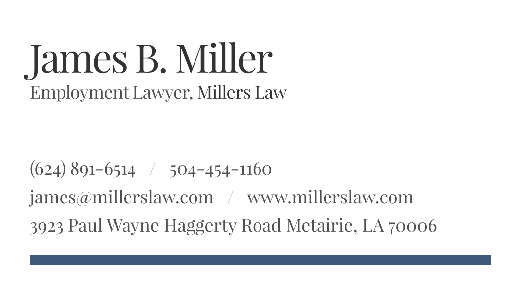 Wisecard Employment Lawyer front