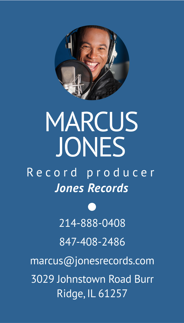 Wisecard Record Producer front