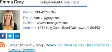 Company Email Signature for independent consultant