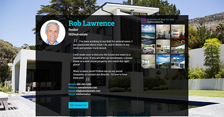 Rob Lawrence Realtor Personal Website