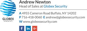 Corporate Email Signature for Head of Sales