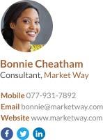 consultant signature template
