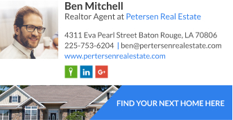 Email signature for realtor agent