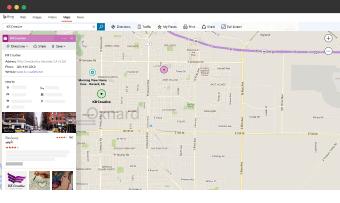 WiseKick bing maps listing