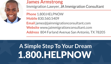 WiseStamp email signature for Immigration Lawyer