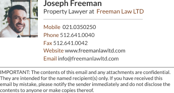 WiseStamp email signature for Property Lawyer