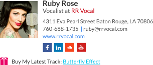 WiseStamp email signature for Vocalist
