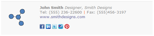 Pinterest   How to share my latest pins and boards in my email signature. test