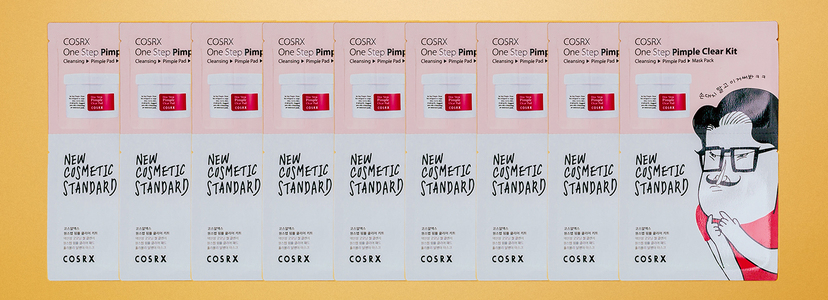 Cosrx one step pimple clear kit