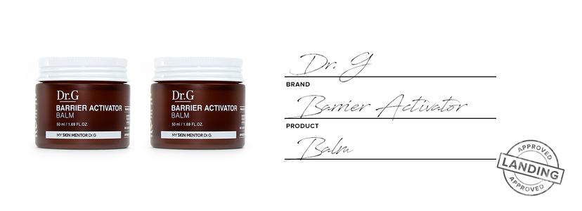 Dr. g barrier activator balm