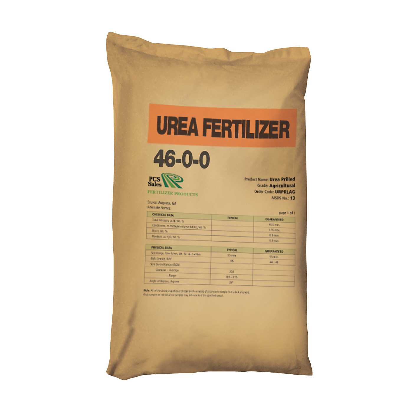 Bag photo turned urea 46 0 0