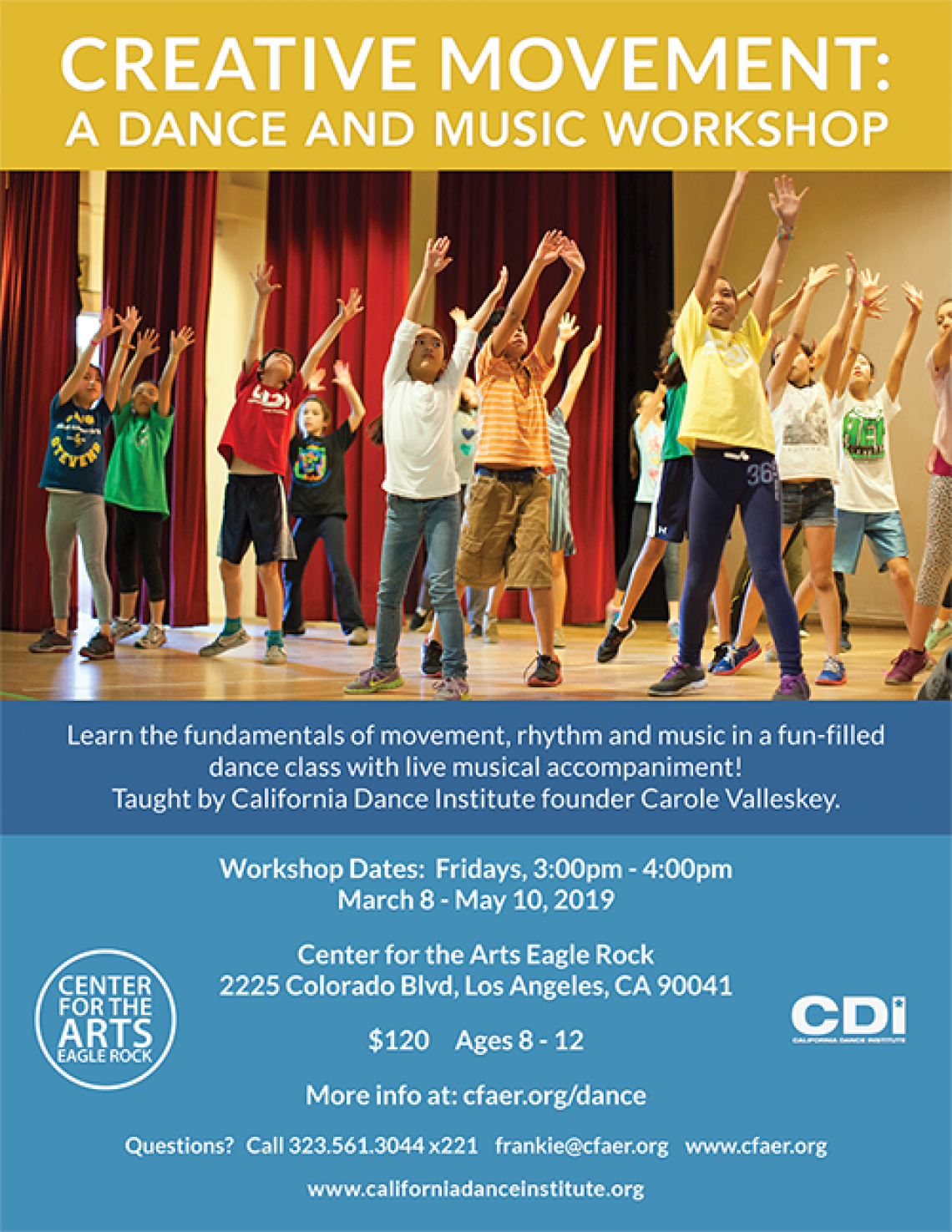 Creative Movement: A Dance and Music Workshop