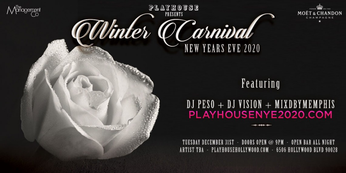 NYE | Playhouse Nightclub 2020 New Years