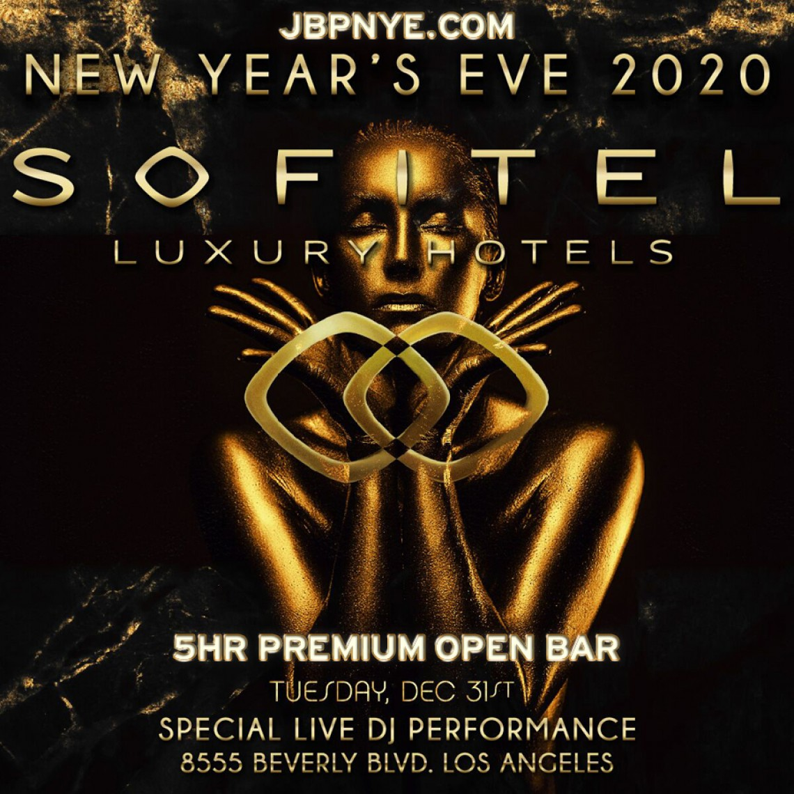 NYE | Sofitel Los Angeles 2020 New Year's Eve