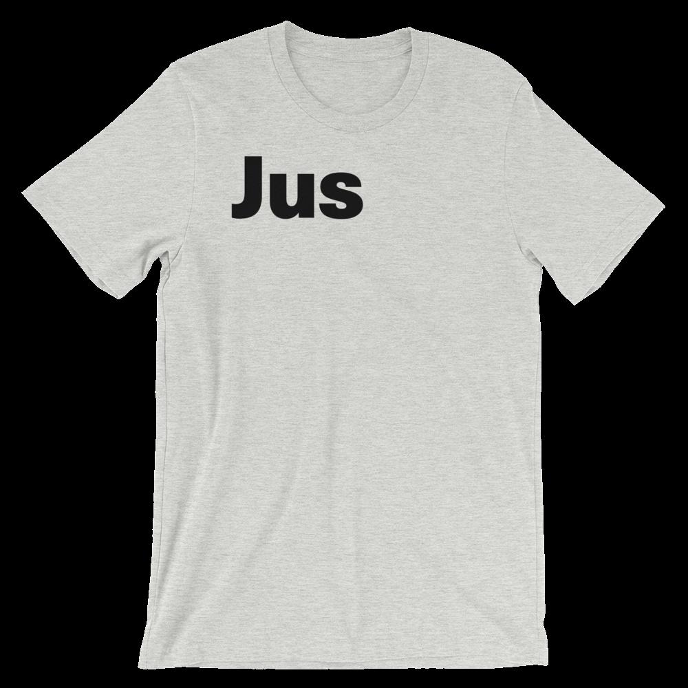 T-Shirt unisexe grisâtre «Jus»