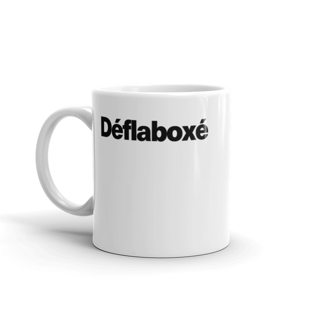 Tasse à café «Déflaboxé»