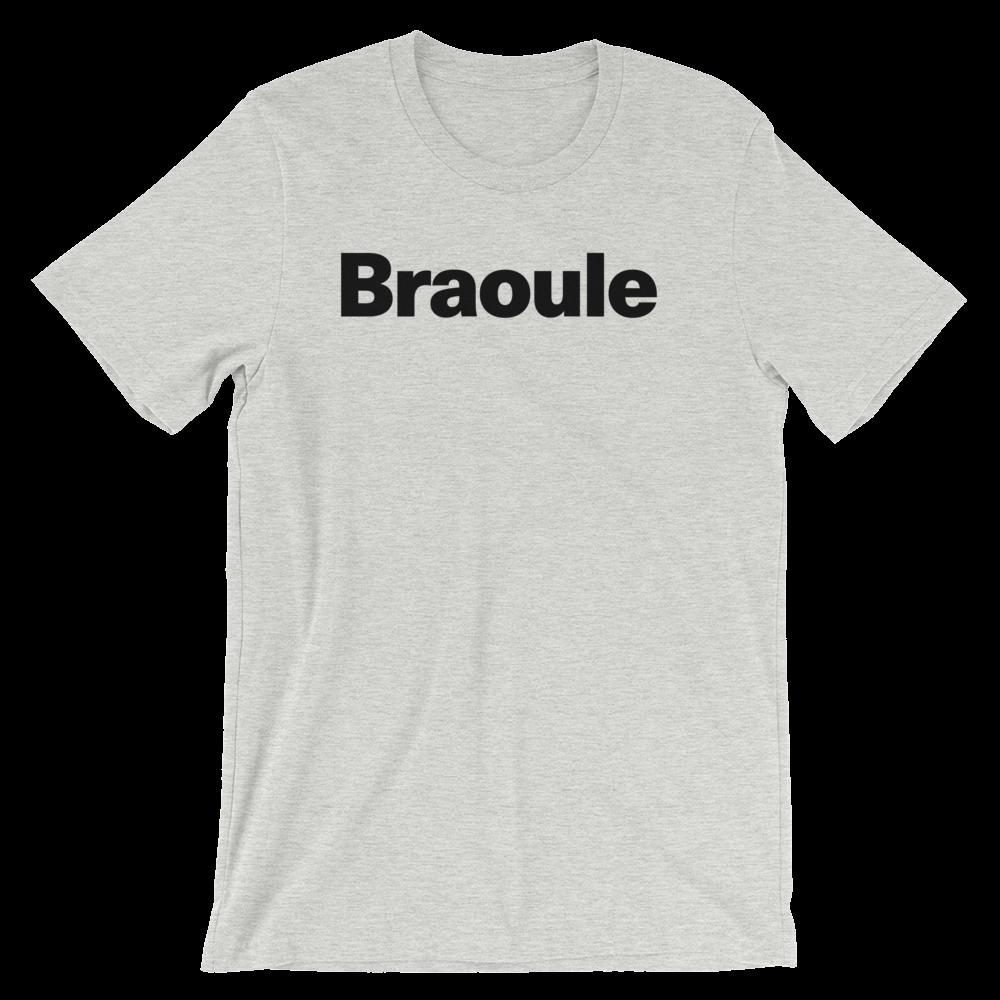 T-Shirt unisexe grisâtre «Braoule»