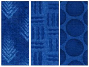 Figure 4. Digital Laser Dyed Wool Designs