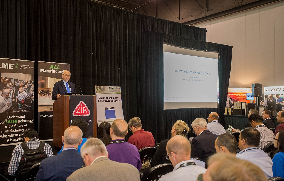 What You Missed at LIA's 2016 Lasers for Manufacturing Event and Summit