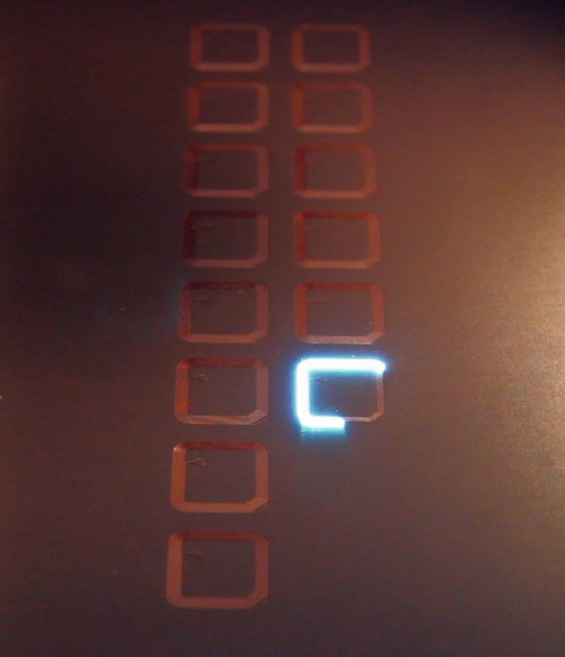 UV nanosecond laser ablating antennas from ½ oz copper printed circuit board materials