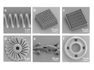 Functional micro/nanostructures
