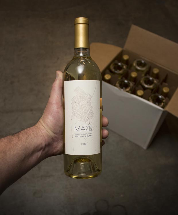Last Bottle - Maze Sauvignon Blanc Knights Valley 2012