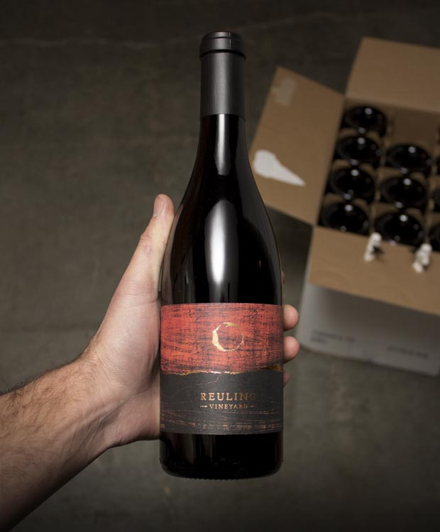 Reuling Vineyard Pinot Noir Estate Vineyard 2012  - Last Bottle
