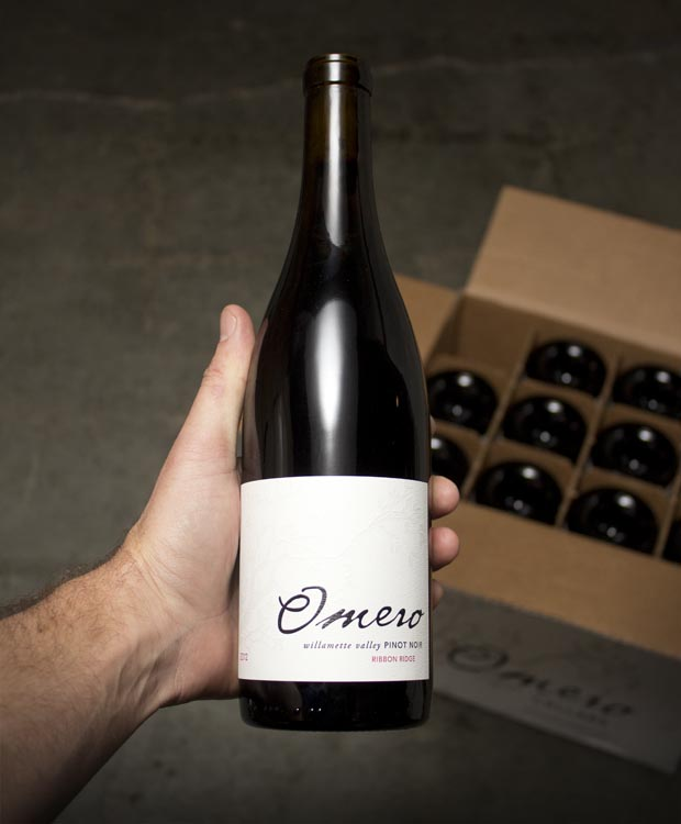 Omero Pinot Noir Ribbon Ridge Willamette 2012  - Last Bottle