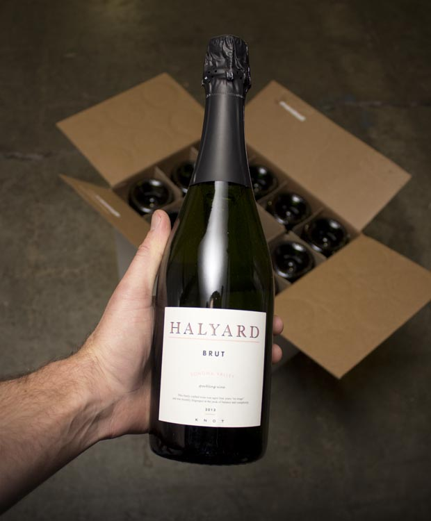 Halyard Sonoma Valley Brut 2013  - Last Bottle