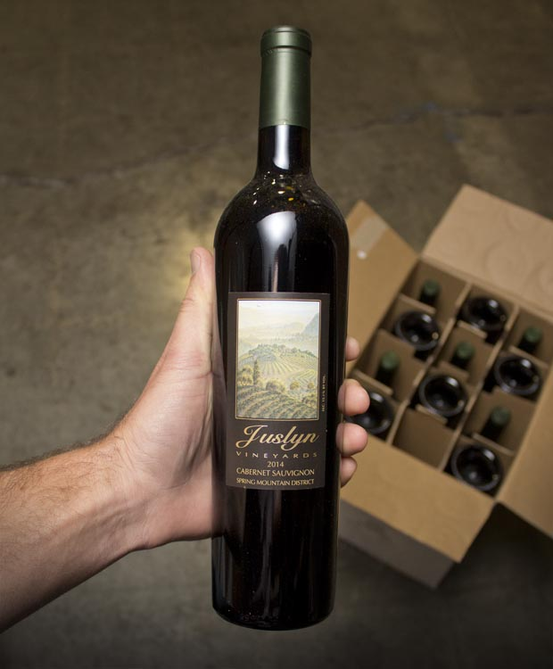 Juslyn Vineyards Cabernet Sauvignon Spring Mountain 2014  - Last Bottle