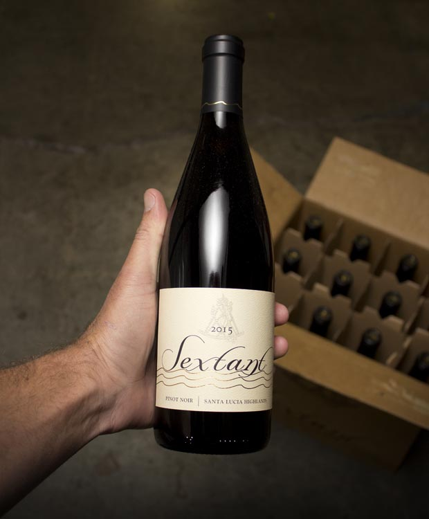 Sextant Pinot Noir Santa Lucia Highlands 2015  - Last Bottle