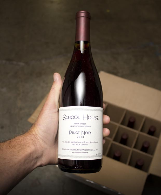 School House Pinot Noir Napa Valley Spring Mountain 2013  - Last Bottle