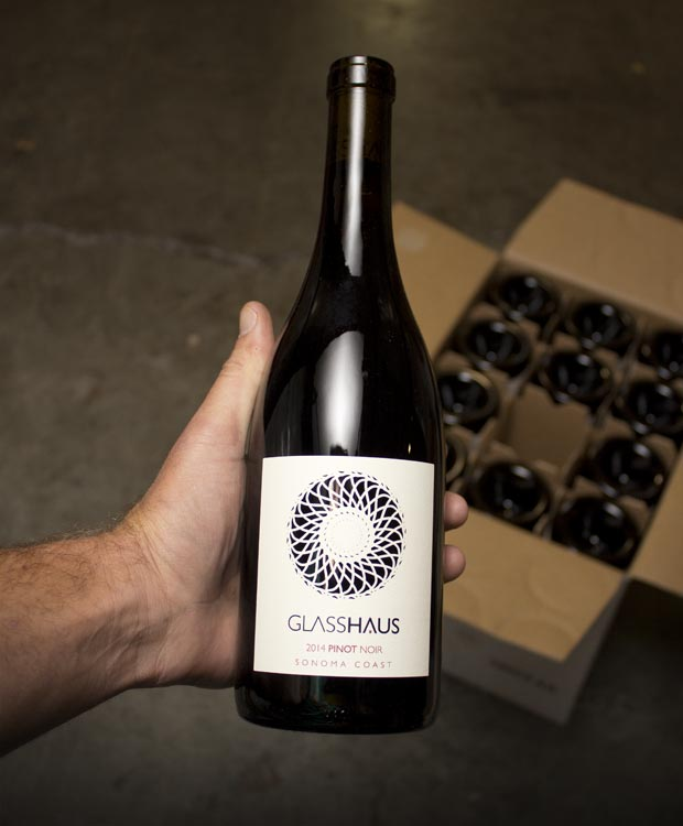 Glasshaus Pinot Noir Sonoma Coast 2014  - Last Bottle
